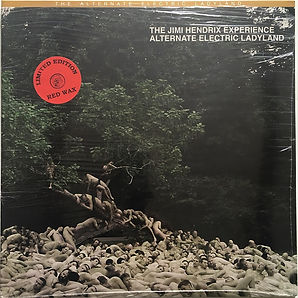 alternate electric ladyland vinyls bootlegs color/jimi hendrix collector 2010