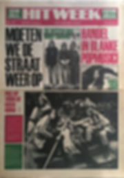 jimi hendrix newspaper 1969/ hit week january 24 1969