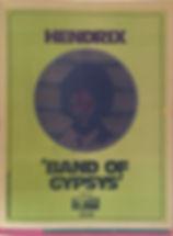 "jimi hendrix magazines 1970 / oz july 1970 "" review band of gypsys """