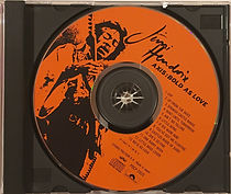 hendrix rotily cd collector/axis bold as love japan 1991
