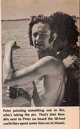 jimi & peter/ miami 1967 jimi hendrix collector magazines