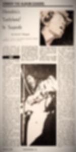 jimi hendrix newspaper 1968/sunday post crescent november 3, 1968