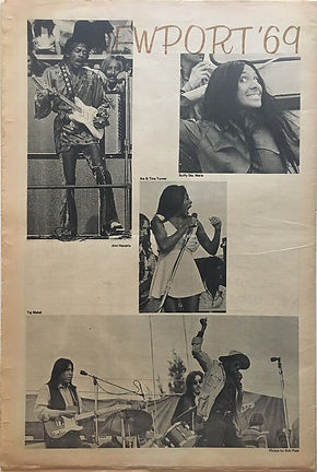 jimi hendrix newspapers 1969/the image june 27 1969 newport '69