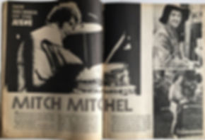 mitch mitchel/ new drummer on the scene
