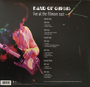 jimi hendrix family edition  /  live at the filmore east  3 LP
