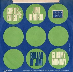 jimi hendrix vinyls singles/gloomy monday