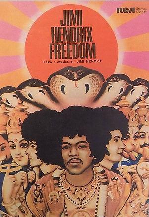 jimi hendrix memorabilia / sheet music freedom