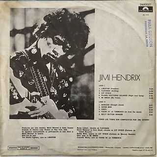 jimi hendrix vinyls collectorlp albums/cry of love uruguay 1973