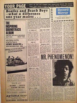 jimi hendrix colector newspapers/mr. phenomenom!