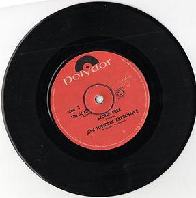 hendrix rotily vinyl/ hey joe/stone free