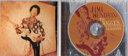 jimi hendrix bootlegs cds 1969 / the baggy's rehearsal sessions
