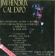 jimi hendrix bootlegs cd 1970 / jimi hendrix cal expo.. major tom 106