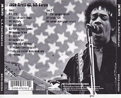jimi hendrix bootlegs cds 1970 / l.a confidential