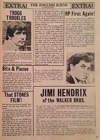 magazine collector /hit parader 8/67