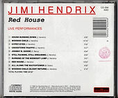 jimi hendrix rotily cd red house