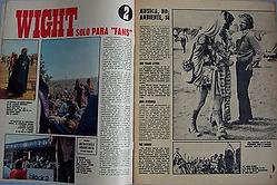 jimi hendrix magazines 1970 / mundo joven september 12,1970