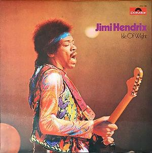 jimi hendrix album vinyl LPs/isle of wight australia 1980
