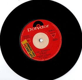jimi hendrix collector EP vinyls 45r/side2/fire/fuego/manic depression/ polydor uruguay EP 1969