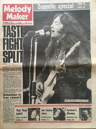 jimi hendrix newspaper 1970 / melody maker : sept. 12, 1970