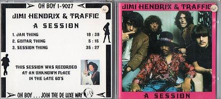 jimi hendrix bootlegs cds 1970 / jimi hendrix & traffic a session /ho boy