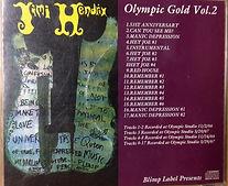 jimi hendrix bootlegs cds 1967/olympic gold vol2