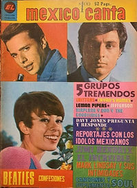 jimi hendrix magazines 1969 / mexico canta    june 1969 N° 424