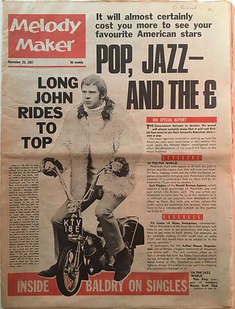 jimi hendrix collector newspaper/melody maker 25/11/1967