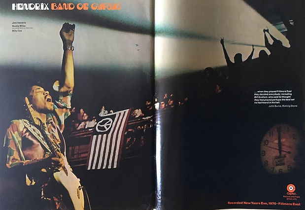 jimi hendrix magazines 1970 /billboard  april 25, 1970