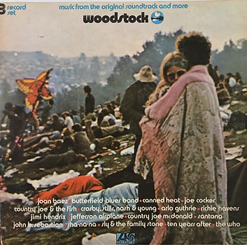 jimi hendrix rotily vinyls collector/woodstock  3lps  australia 1970