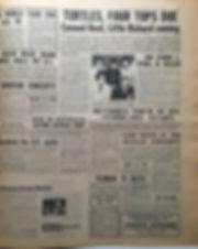 jimi hendrix newspaper 1968 /new musical express 16/11/68