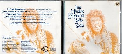 jimi hendrix promo : cd album / radio radio ryko