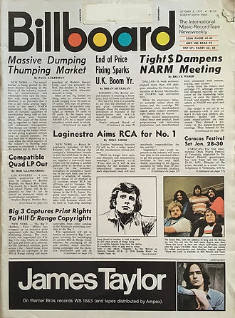 jimi hendrix magazines 1970 / billboard / october 3, 1970