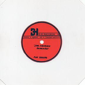 jimi hendrix collector singles vinyls/remember