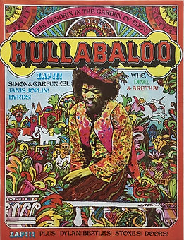 jimi hendrix magazine/hullabaloo september 1968