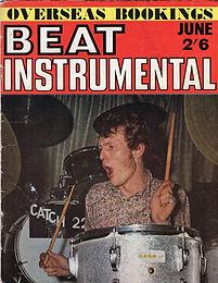 jimi henrix magazine /beat instrumental june 1967