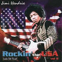 jimi hendrix bootlegs cds 1970 / jimi hendrix rockin'the usa vol 2