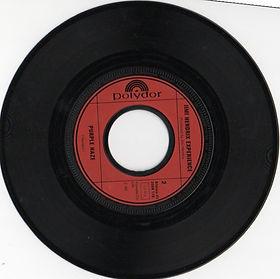 jimi hendrix collector vinyls singles/ side 2  purple haze