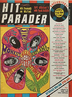 jimi hendrix collector magazine/hit parader december 1967