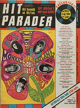jimi hendrix collector magazine/hit parader december 1967
