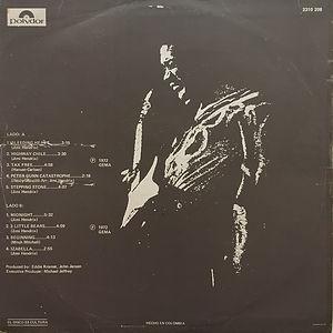 jimi hendrix album vinyl/ war heroes colombia