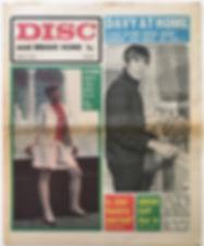 jimi hendrix newspaper/disc music echo june 15 1968