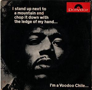 jimi hendrix colector vinyls maxi singles/ voodoo chile brazil 1971