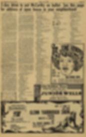 jimi hendrix newspaper 1968 /los angeles free press 13/9/68