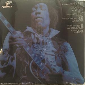 jimi hendrix collector vinyls bootlegs lp/ never fade