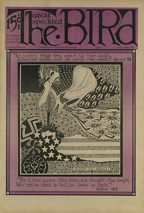 jimi hendrix newspaper/the great speckled bird july19 1968