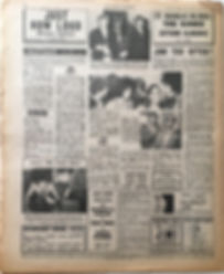 jimi hendrix collector newspapers/new musical express 14/10/1967 jimi too often?