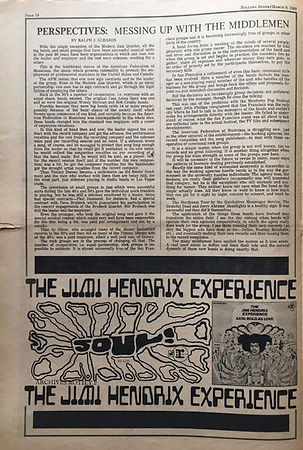 AD/axis bold as love/ rolling stone newspaper march 9 1968