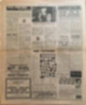 jimi hendrix newspaper 1970 / new musical express jan. 31 1970