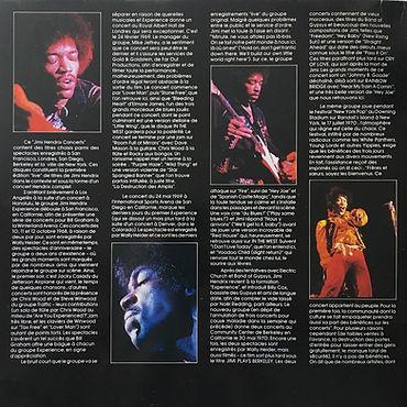 jimi hendrix vinyls album / the jimi hendrix concerts mediamotion records