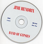 jimi hendrix bootlegs cds 1969/  the band of gypsies / disc 2